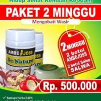Obat Wasir   Ambeyen   Ambeien Herbal Ambejoss Salwa Paket 2 Minggu