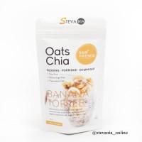 RAW FRIENDS OAT CHIA BANANA TOFFEE 85GR 100% ORIGINAL PRODUCT