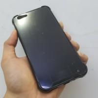 Case Vivo Y91 Y95 Anticrack Hitam Black Akrilik/Fiber Anti Crack