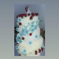 Kue pengantin atau ulang tahun 3 tingkat