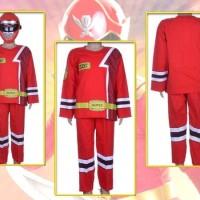 Baju Setelan Anak Laki   Costum Power Rangers - 02.5126