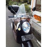 [AKSESORIS MOTOR] Virgo Racing - Windshield Scoopy / Tameng Angin Scoo