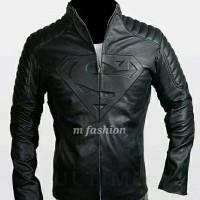 Jaket semi kulit model batman superman .jaket kulit murah bikers