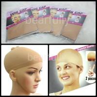 Wig Cap Bald Cap Kepala Botak