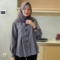 samira top/baju atasan blouse kemeja wanita/grosir baju hijab bandung