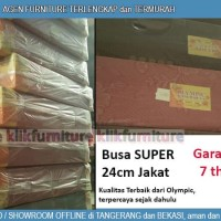 Kasur Busa Olympic Super 200 x 120 x 24 cm Kain Jakat
