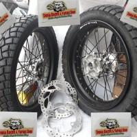 Velg Honda CRF 150 Supermoto ring 17 Ban Swallow SB117