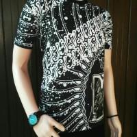 T-Shirt pria kaos batik original baju pria modern