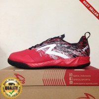 HayuFutsal - Sepatu Futsal Specs Metasala Warrior Premier Red Black 4