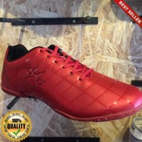 HayuFutsal - sepatu futsal KELME star 9 red black original new 2018