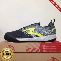 HayuFutsal - Sepatu Futsal Specs Metasala Warrior Black Cool Grey 400