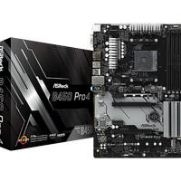 Motherboard Asrock B450 Pro 4 (Socket AM4 - DDR4)
