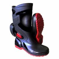 AP Boots Moto 3 Sepatu Bikers Tahan Air Hujan - Tipe Ap Boots Moto3
