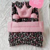 Kasur bayi baby nest kotak dan set selimut bayi cat pink dotiie baby