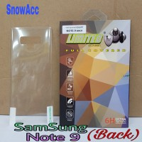 Anti Gores Belakang SamSung Galaxy Note 9 Full Cover Screen Guard Limi