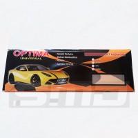 Dudukan / Tatakan (Frame) Plat Nomor Acrylic / Akrilik Mobil 46 Cm