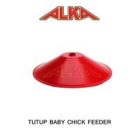 Tutup tempat pakan ayam baby chick feeder