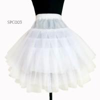 Petticoat Pengembang Rok Tutu Balet l Daleman Rok Mini Dress - SPC 003