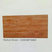Keramik Atena Tiles kasar 30x60 medium brown Damar Wood