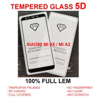 Xiaomi Mi6X Mi 6X MiA2 Mi A2 full anti gores 3D 4D TEMPERED GLASS 5D