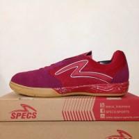 New Sepatu Futsal Specs Metasala Rival Chestnut Red 400727 Original