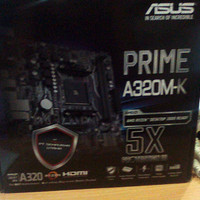 Motherboard AMD ASUS Prime A320M-K (AM4, A320, DDR4)
