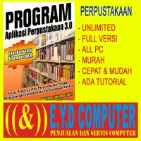 PROGRAM PERPUSTAKAAN FULL VERSION BANYAK PC APLIKASI DAFTAR BUKU