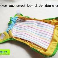 Alas Ompol Baby Oz - Alas Ompol - Perlak Bayi - Perlak Lurik - 6 Pcs