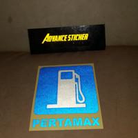 sticker tangki mobil pertamax