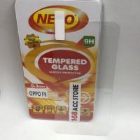 TEMPERED GLASS / ANTI GORE KACA OPPO F9 NERO