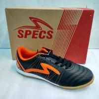 Sepatu futsal SPECS HORUS black/Orange original