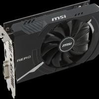 MSI Radeon RX 550 AERO ITX 2GB DDR5 - AERO ITX 2G OC Berkualitas