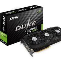 MSI GeForce GTX 1070 Ti 8GB DDR5 - Duke Limited