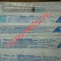 Terumo Syringe 3cc Spuit 3ml + Needle