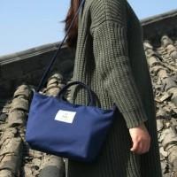 TAS SELEMPANG KANVAS WANITA IMPORT - SLING BAG CANVAS CEWEK 2 IN1 F6