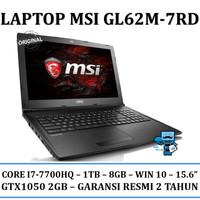 Laptop Gaming MSI GL62M-7RD i7-7700HQ/1TB/GTX1050 2GB/Win 10