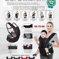 Gendongan Hipseat + Baby Carier 6 in 1 Kiddy 7200