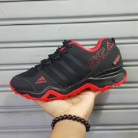 Sepatu Adidas AX2 Vietnam Sneakers Hitam Merah Red Kado Hadiah Pria