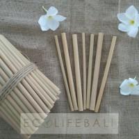 Bamboo straw - sedotan bambu - pipet bambu