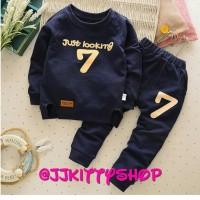Setelan Sweater Anak Lucu Baju Panjang Kids Clothes