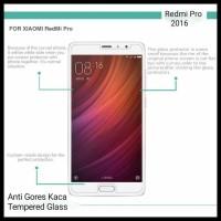 Anti Gores Tempered Glass 9H Xiaomi Redmi Pro 5.5 Inch Dual Camera