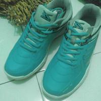 Spotec Max Score Sepatu Badminton - Emerald-White Size 42