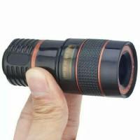 Lensa Telezoom Telescope 8x For HP Smartphone Tele Zoom Jepit Focus