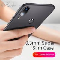 Case Asus Zenfone Max Pro M2 Softcase Soft Silikon Slim Cover Full