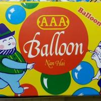Balon Tiup AAA mainan jadul