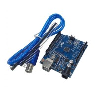 Arduino Uno R3 CH340 SMD clone atmega328 improved USB cable kabel