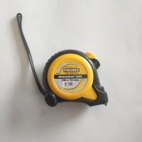 Meteran / Rol Meter Prohex 5 M + Body Lapis Karet (Auto Lock)