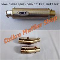 Knalpot DBS slip on for Ninja 250 R Fi RR Mono Z250 R25 MT25 CBR250RR