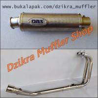 Knalpot DBS for Ninja 250 R / Fi, R25, MT25 & CBR250RR