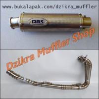 Knalpot DBS for CBR250RR, Ninja 250 R / Fi, R25 & MT25
